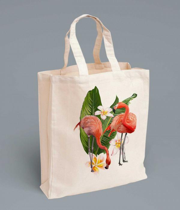 Купить Сумка Фламинго
