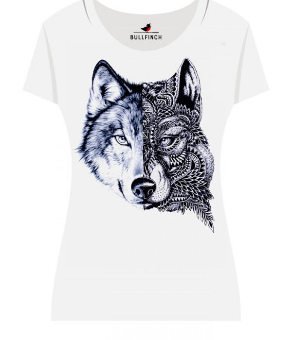 Купить Футболка Двуликий Волк
