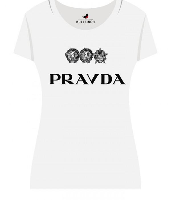 Купить Футболка PRAVDA