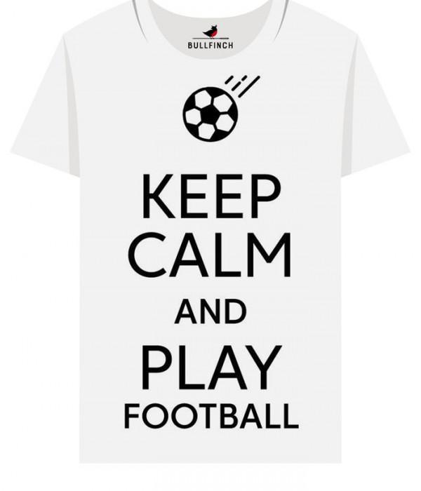 Купить Футболка KEEP CALM AND PLAY