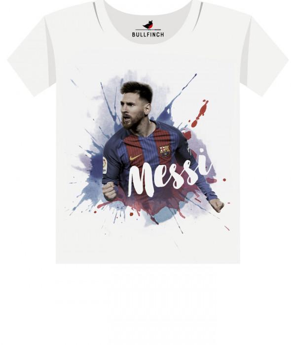 Купить Футболка Messi Красочный
