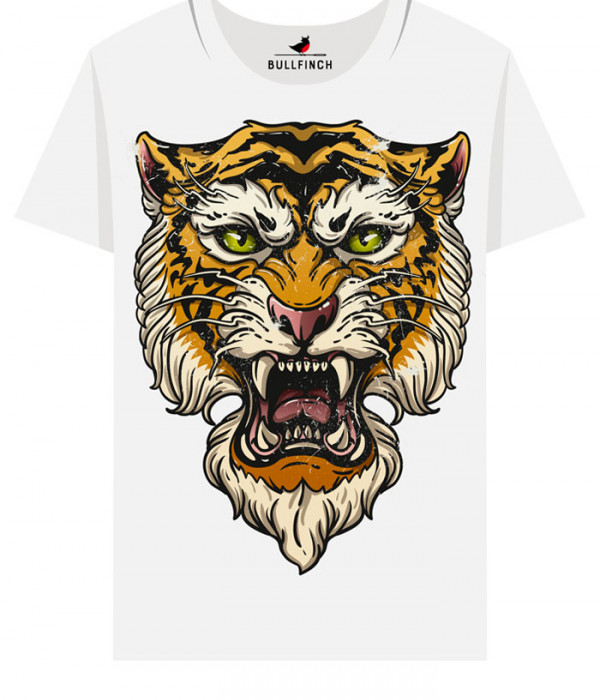 Купить Футболка Тигриный оскал