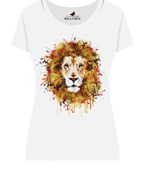 Купить Футболка Огненный лев
