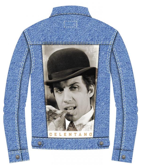 Купить Джинсовая куртка Адриано Челентано