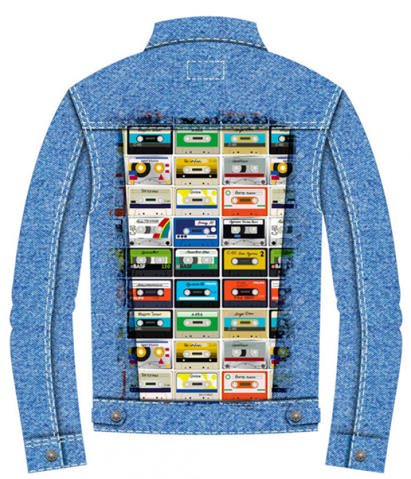 Купить Джинсовая куртка Кассеты