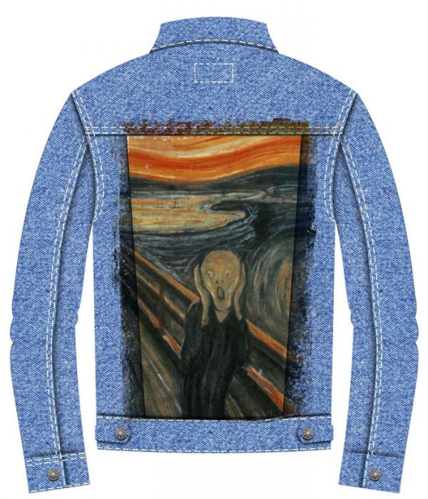 Купить Джинсовая куртка Крик