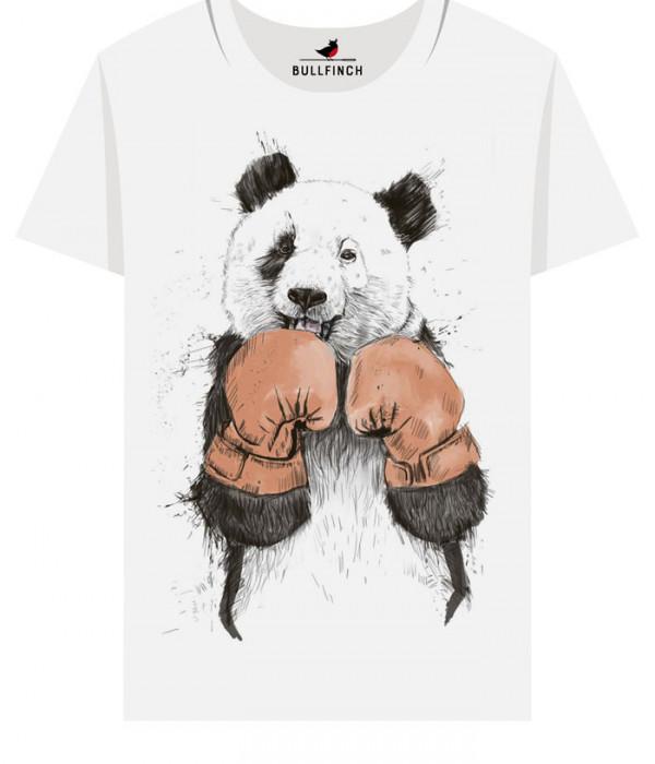 Купить Футболка Панда боксёр