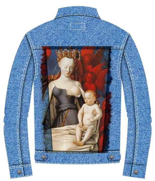 Купить Джинсовая куртка Жан Фуке. Мадонна с ребёнком
