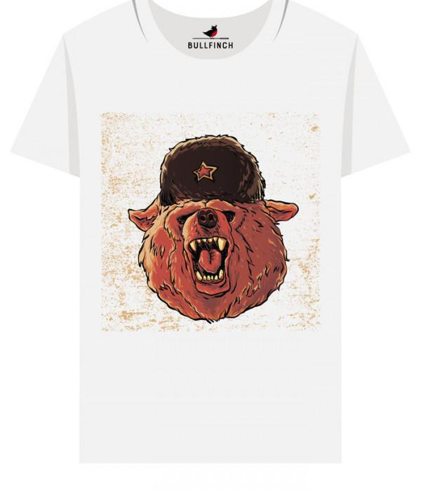 Купить Футболка Советский медведь