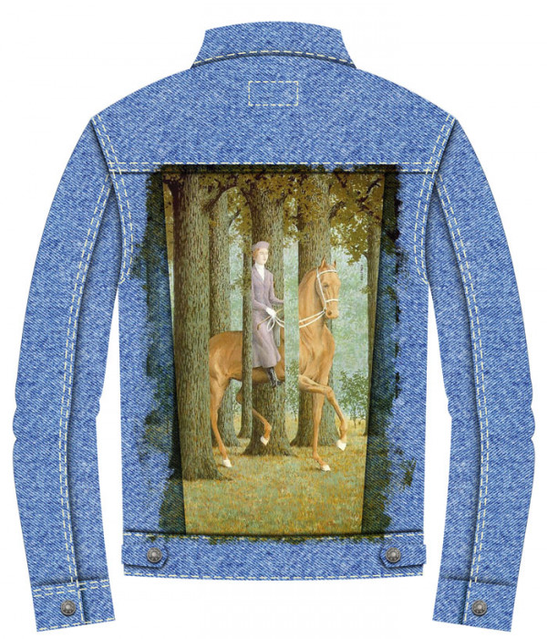 Купить Джинсовая куртка Препятствие пустоты