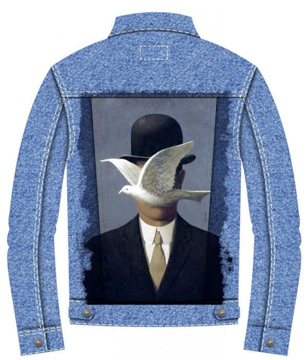 Купить Джинсовая куртка Человек в котелке
