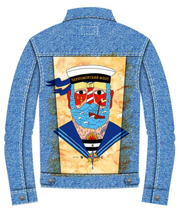Купить Джинсовая куртка Моряк