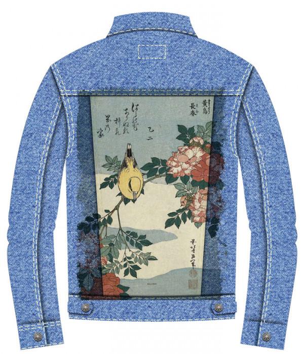 Купить Джинсовая куртка Древние сказания