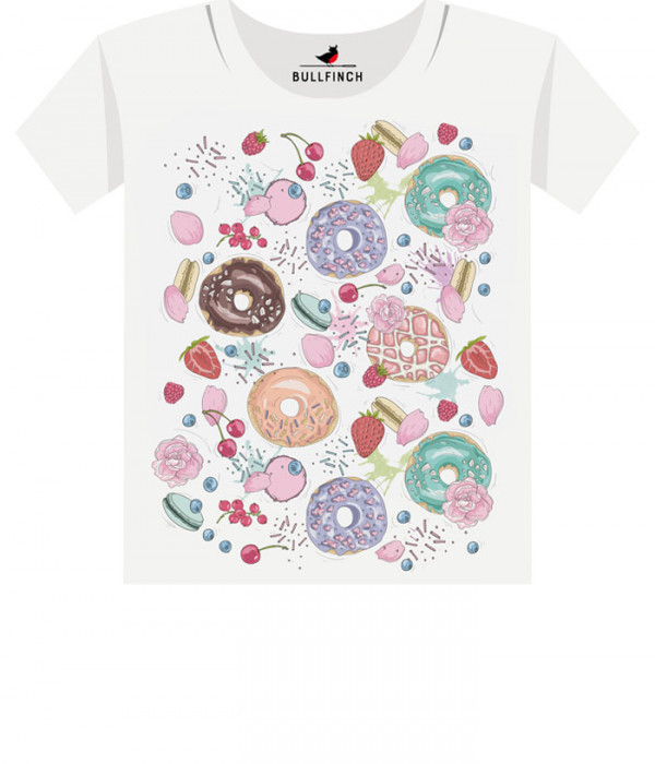 Купить Футболка Мир пончиков