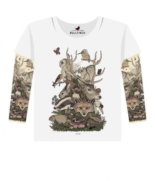 Купить Лонгслив Forest