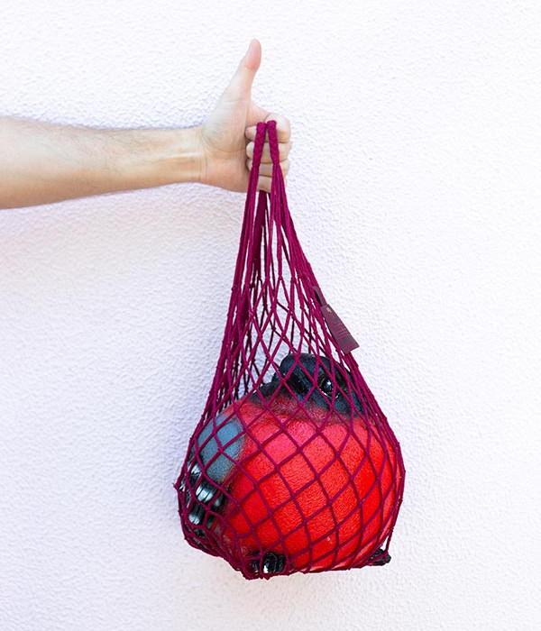 Купить Авоська классическая ягодный