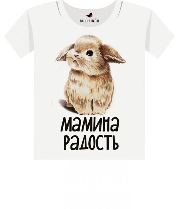 Купить Футболка Мамина Радость Кролик