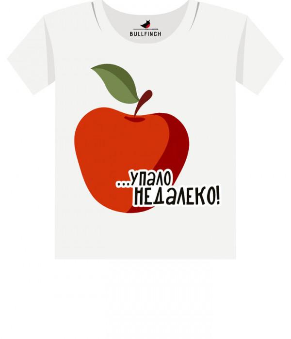 Купить Футболка Яблоко от яблони упало