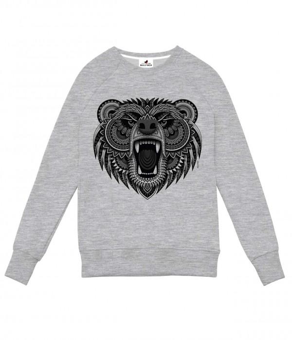 Купить Свитшот Медведь Зентангл