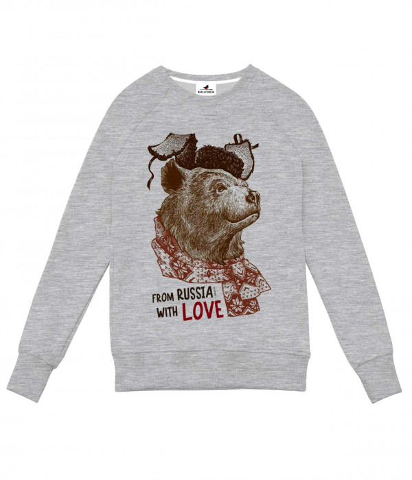 Купить Свитшот Медведь From Russia With Love
