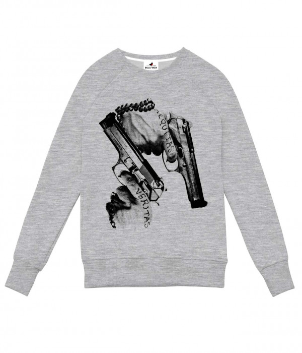 Купить Свитшот Два Пистолета Гангстер