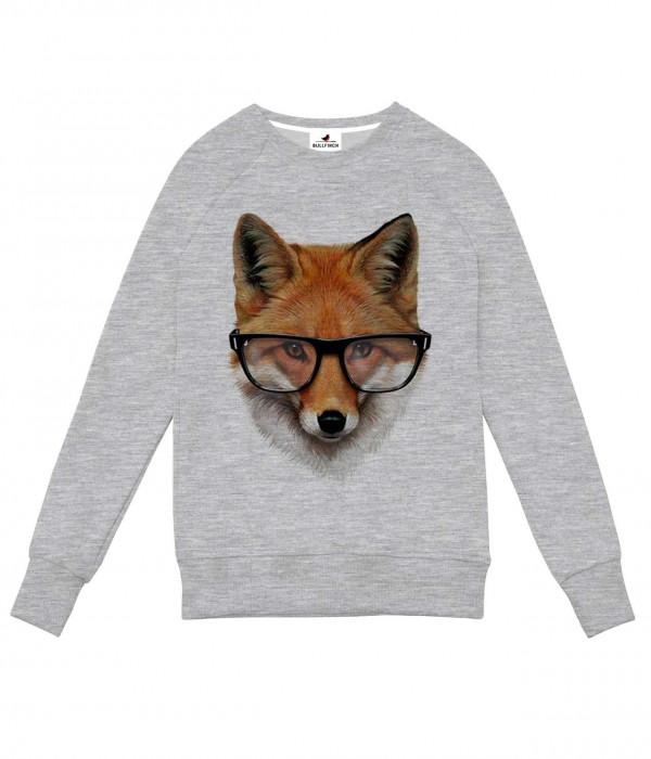 Купить Свитшот Лисица в очках